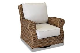sunset west santa cruz wicker swivel rocker