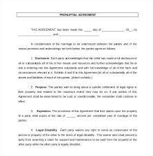 Sample Prenup Prenup Agreement Template Prenuptial Agreement Document Florida
