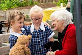 Teddy bears picnic brings care home residents and pupils together | The  Leamington Observer
