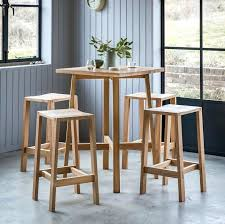 bar table and stools gallery direct solid oak bar table with 4 stools inside oak bar table and stools