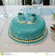 Baby Boy Birthday Cake Stock Image Image Of Celebration 25926421