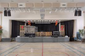 sound system for church. mono and stereo sound at the same time. a hybrid church system made possible because of room acoustics thanks to budget digital mixers. for p