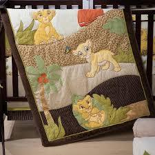 the lion king premier 7 piece crib bedding set