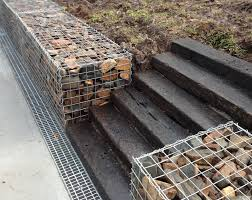 Small Picture Gabion Wall With Railway Sleepers Gabion1 Australia