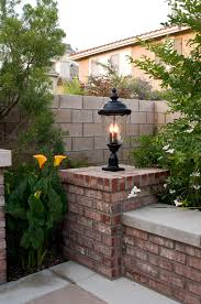 Patio Post Lights Post Mount Light By Maxim Great For Adding Strong Detail To
