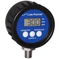 digital water pressure gauge. cole-parmer digital industrial pressure gauges water gauge
