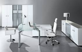 home office contemporary glass office. Modern Home Office Contemporary Glass N