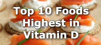 Potassium Food Chart Pdf Top 10 High Vitamin D Foods