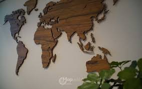 office world map. Luxury Decoration In The Office World Map E