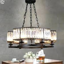 black wrought iron and crystal chandelier as well as restaurant lights simple black wrought iron lamp