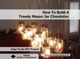 at graceandgreg blo com grace shows how easy and it can be to make your own chandelier our of