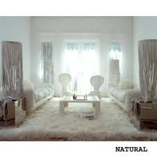 faux rug white sheepskin