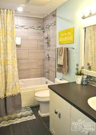 kids bathroom reveal and some great tips for post clean up design yellow gray ways to designs companies e63 bathroom