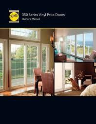 350 series vinyl patio doors owner s