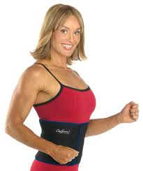 promotes inch loss and trims your waistline by keeping body heat in and increasing perspiration includes a cory everson fitness guide with workout