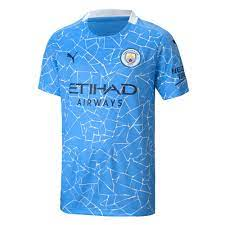 2020-2021 Manchester City Puma Home Football Shirt (Kids) [75706301] -  Uksoccershop