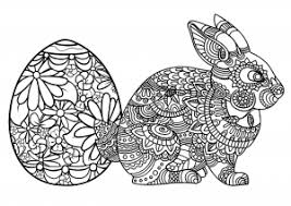 Decorative easter egg coloring pages for kids to print out. Easter Coloring Pages For Adults