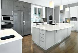 gray colors for kitchen light grey cabinets