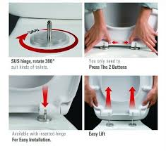 soft close toilet seat mechanism round d shape duraplast top fixing soft close how does soft
