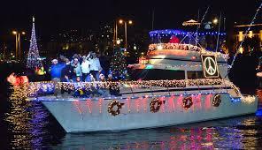San Diego Bay Parade Of Lights Gorgeous San Diego Bay Parade Of Lights Brings Holiday Cheer To Bayfront Dec