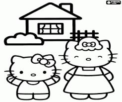 Disegni Di Hello Kitty Da Colorare E Stampare