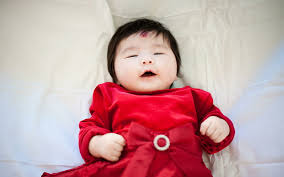 cute baby doll toddler s red long