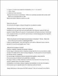 mitosis homework help