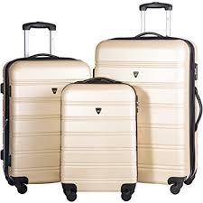 Light Luggage Sets Best Lightweight Luggage Set 2019 Luggage Spots