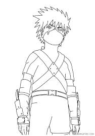 Welcome in free coloring pages site. Naruto Coloring Pages Kakashi Kids Coloring4free Coloring4free Com