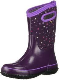 Bogs Baby Classic Printed Neo Tech Snow Boot Plus Eggplant Multi 10 Medium Us Toddler