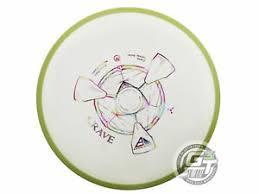 Details About New Axiom Discs Neutron Crave 172g White Lime Rim Fairway Driver Golf Disc