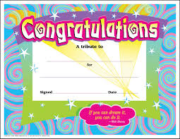 Funny Awards At Work 30 Congratulations Awards Large Swirl Certificate Pack