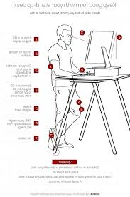 desk best 25 great ideas about standing desks on with regard to elegant household stand up desk height remodel