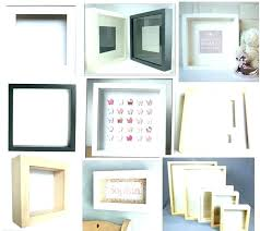 10 x 12 frame frame big 5 cm deep shadow box picture in bulk white