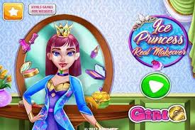 ice princess real makeover make up games play free atmegame