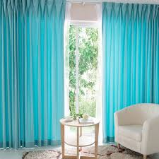 Beautiful Aqua Colored Home Suitable Curtains Online