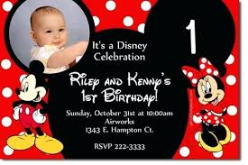 Birthday Cards Images Free Mickey Mouse Birthday Card Template Baby Invitations Free Download