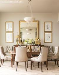 high rise high style dining decordining room