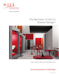 the bachelor of arts in interior design