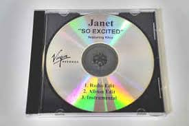 Janet Jackson Featuring Khia - So Excited (2006, CDr) | Discogs