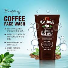 Here is a video to show you how to do coffee face scrub.please follow this easy and quick make up tutorial to make your face look beautiful. Amazon Com Man Arden Coffee Face Wash No Parabens Sulphate Silicones 100ml Beauty