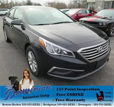 used 2017 hyundai sonata in dowagiac mi 49047 louie dominion s deals on wheels dowagiac