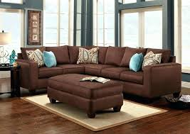 chocolate brown couch design ideas for leather furniture what color area rug with dark gray decorating