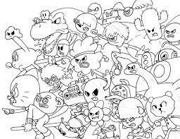 Amazing World Of Gumball Coloring Pages At Getdrawingscom Free