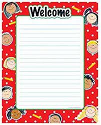 Welcome Kids Chart