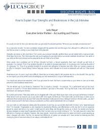Weaknesses For Interview Examples Job Interview Questions Strengths And Weaknesses Examples