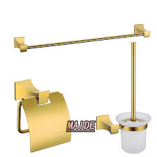 luxury bathroom accessories set solid brass gold plated towel bartowel rackpaper accessories luxury bathroom