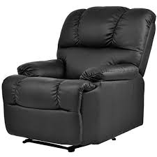 black leather massage chair. home black leather massage chair t