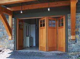 Concept Folding Garage Doors Of Amazing Door Sliding A With Design