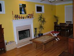 Paint Color For Living Room Accent Wall Interior Living Room Inspiring Yellow Living Room Yellow Room